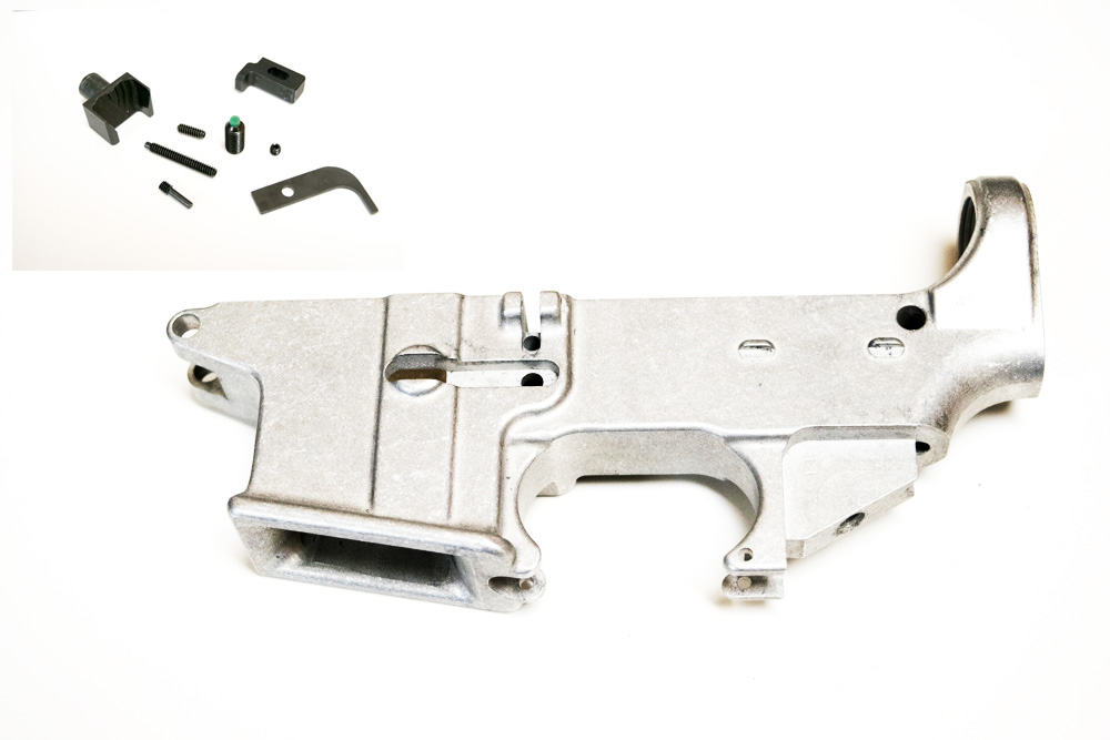 ar15 80 9mm dedicated forged raw lower colt mag w kit atomic