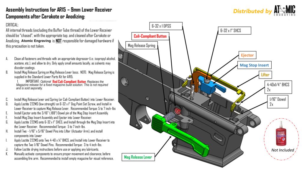 Gpm 9 Fixed Magazine Device Atomic Engraving Custom Laser