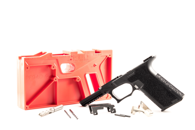 80 Pf940v2 Glock 17 22 Pistol Frame With Identification