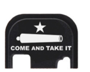 Punisher Custom Engraved Glock Slide End Plate