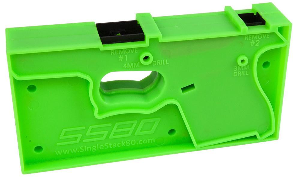 80 Ss80 Glock 43 Pistol Frame Textured Black Pre Order